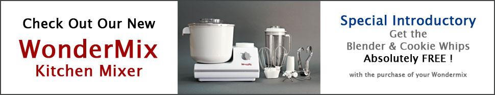 Learn about our new WonderMix Stand Mixer for your kitchen