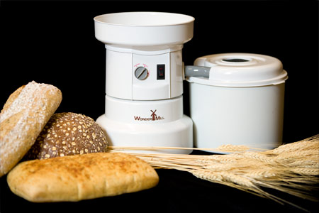 Wondermill electric grain mill wondermill company for Small electric motor repair near me